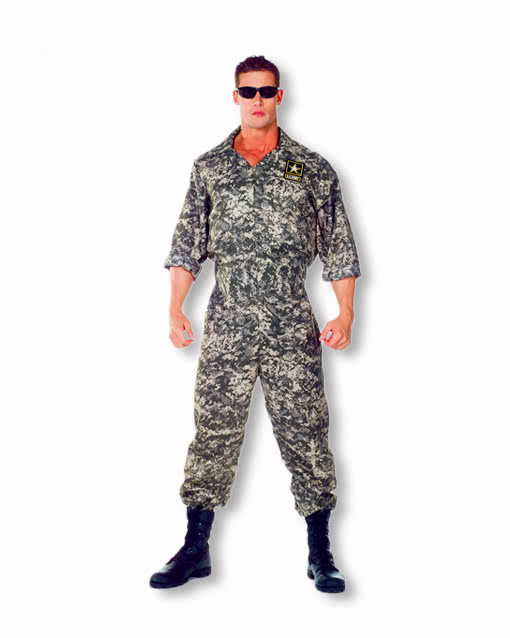 U S Army Overall Xxl Us Soldier Us Army Kostum Bundeswehr Uniform