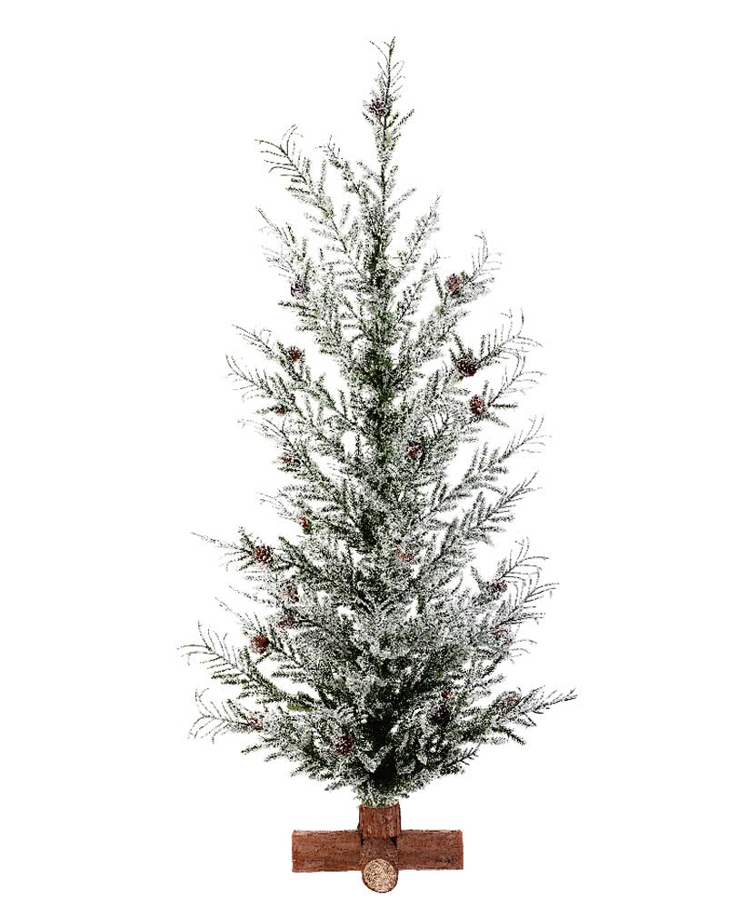 Icy Christmas tree with cones 70 cm   Evocative Christmas   horror ...