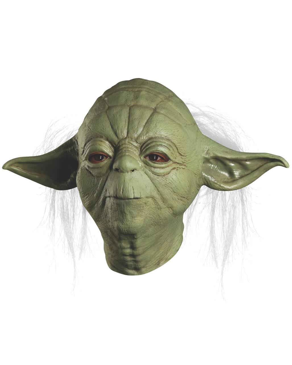 Yoda Maske aus Latex   Star Wars Merchandise kaufen   Horror-Shop.com