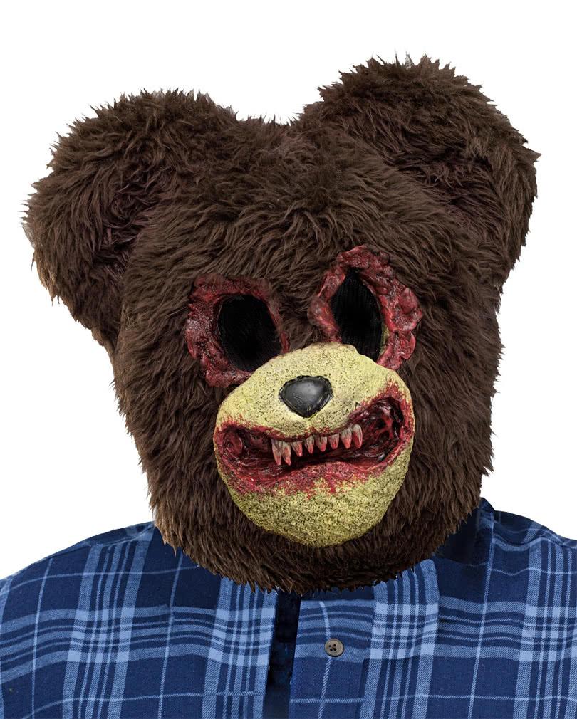 Scary Bear Mask | Full head mask of a zombie bear | horror-shop.com