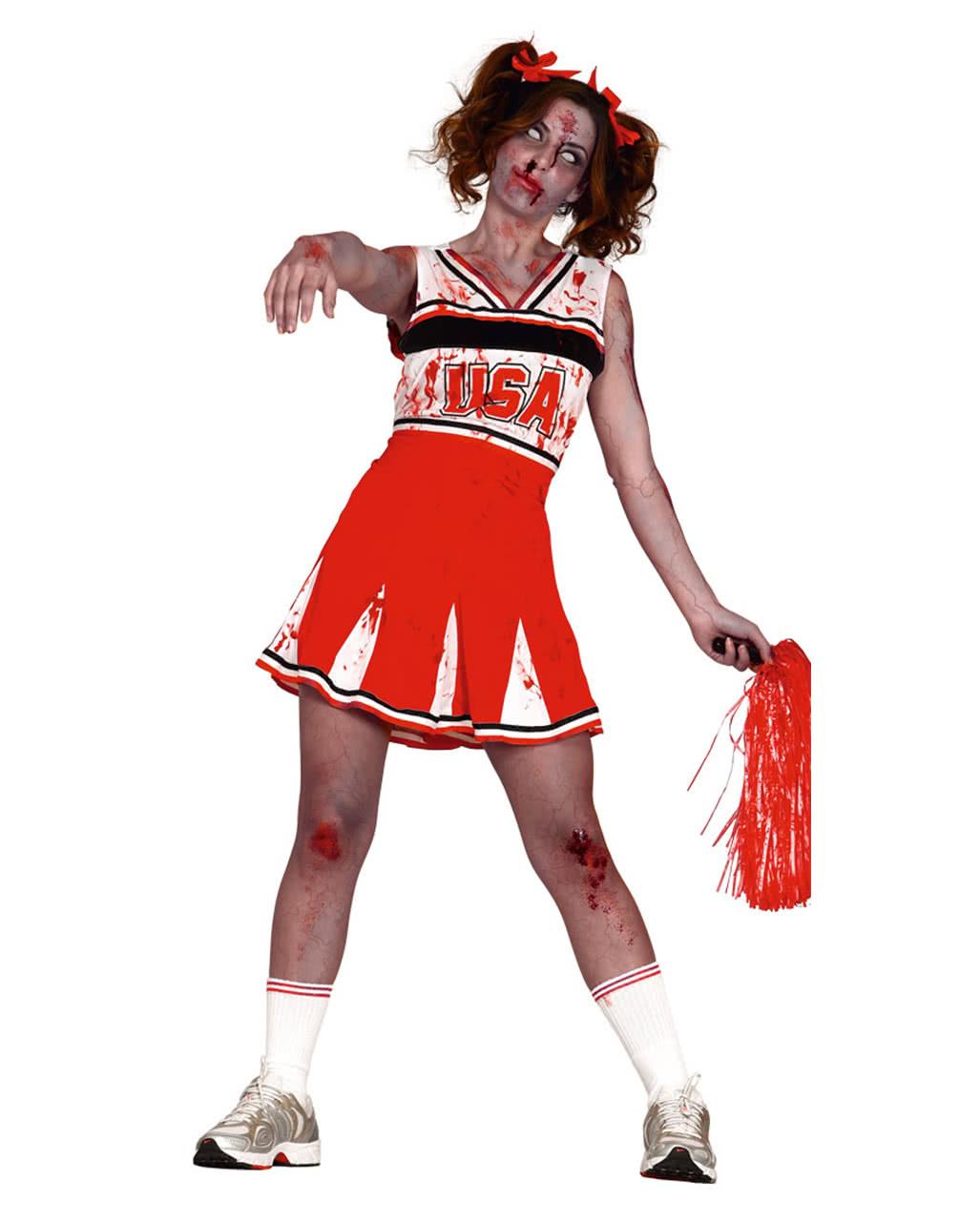 Cheerleader zombie costume for zombie walks halloween horror cheerleader zombie costume for zombie walks halloween horror shop solutioingenieria Gallery