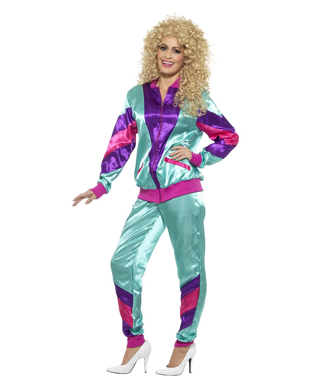 80s Jogging Suit Costume   Bad button   horror-shop.com