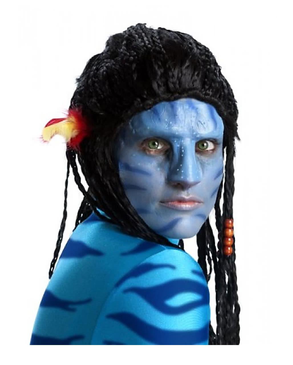 Avatar Na Vi Make Up Set Mit Nase Fur Halloween Horror Shop Com