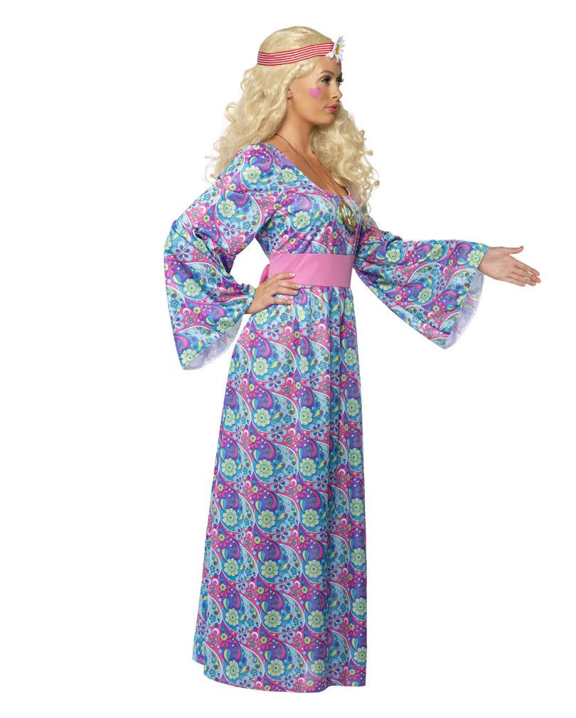 Flower Child Costume XL XXL Flower Child Costume XL XXL ...  sc 1 st  Horror-Shop.com & Flower Child Costume XL XXL | Hippie Costumes in Plus Size | horror ...