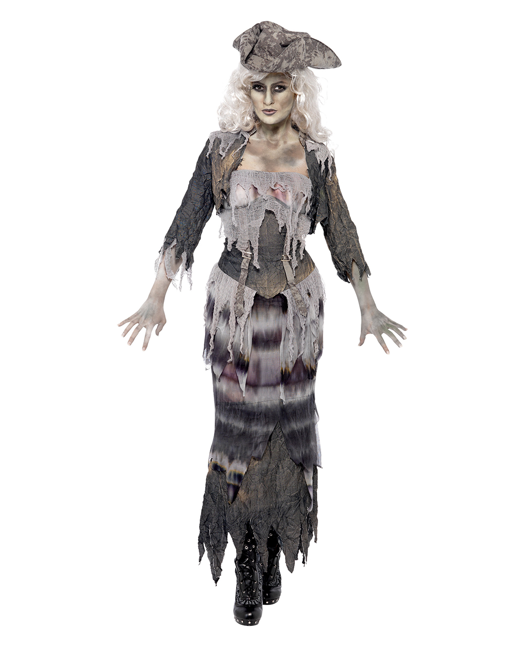 Ghoulina Pirate Ghost Ship Buy Sexy Zombie Costumes Horror Shop Com