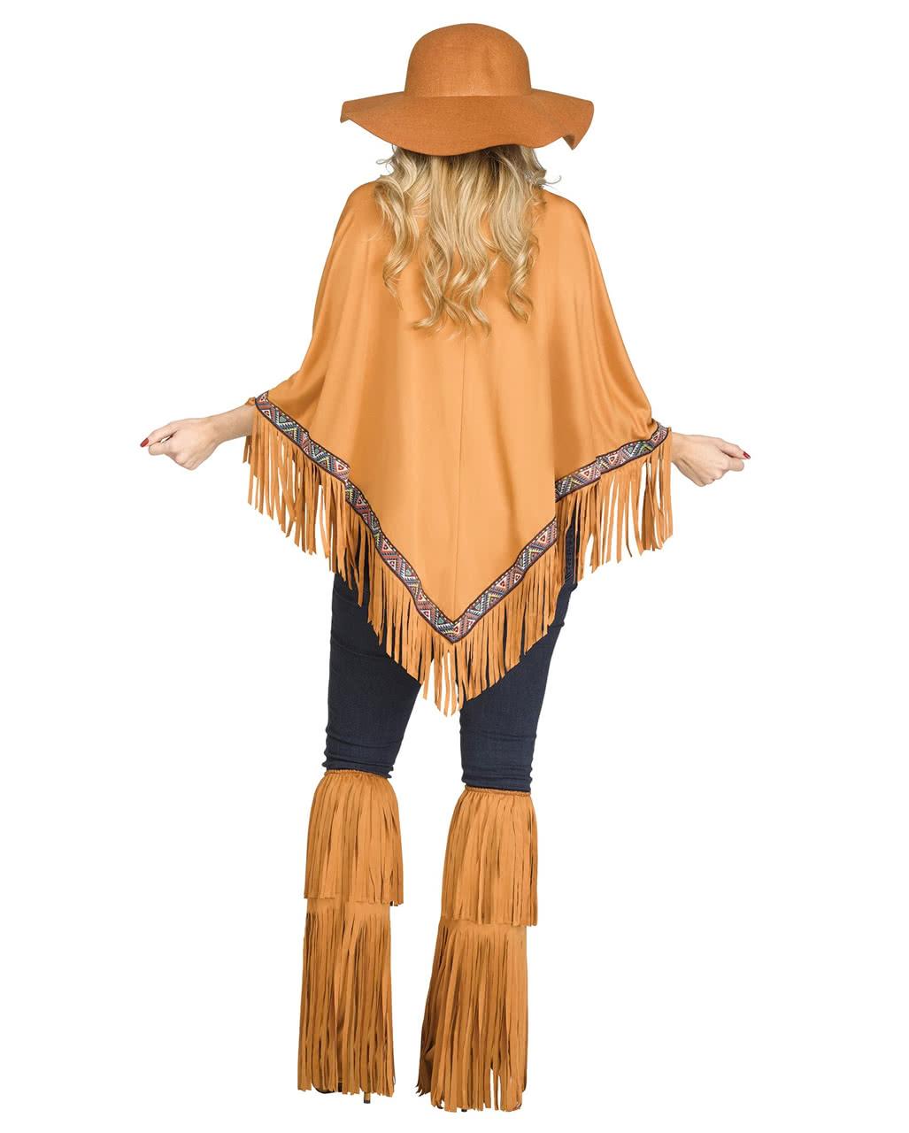 28005de06742d6 Indianerin Poncho braun | Mix & Match Kostüm | Horror-Shop.com