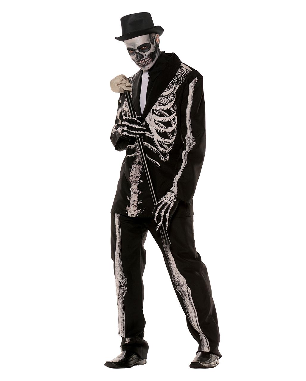 Skeleton costume suit Skeleton costume suit  sc 1 st  Horror-Shop.com & Skeleton costume suit für Day of the Dead | horror-shop.com