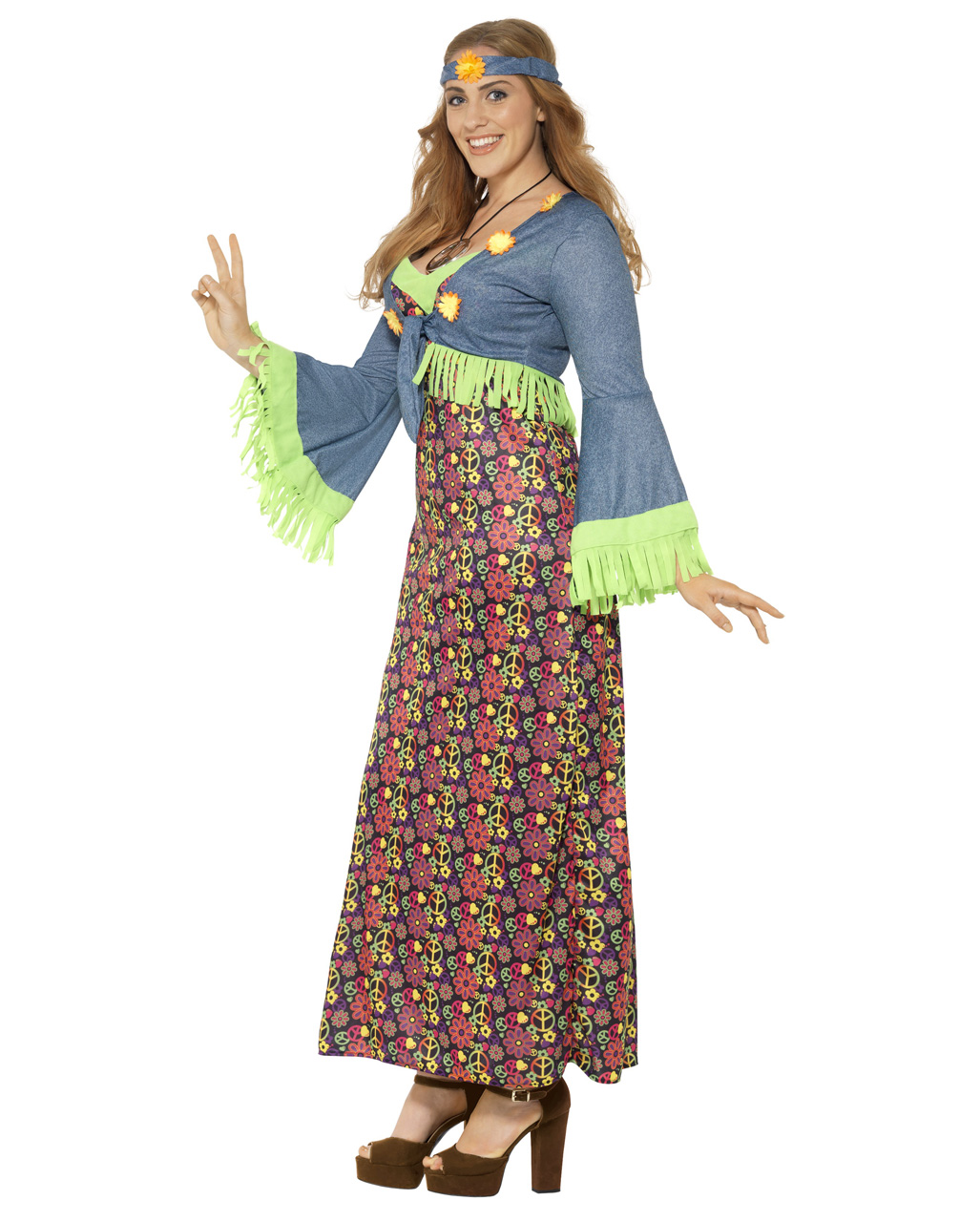 fd38492f7b4 Curvy Hippie Lady Plus Size Costume to order
