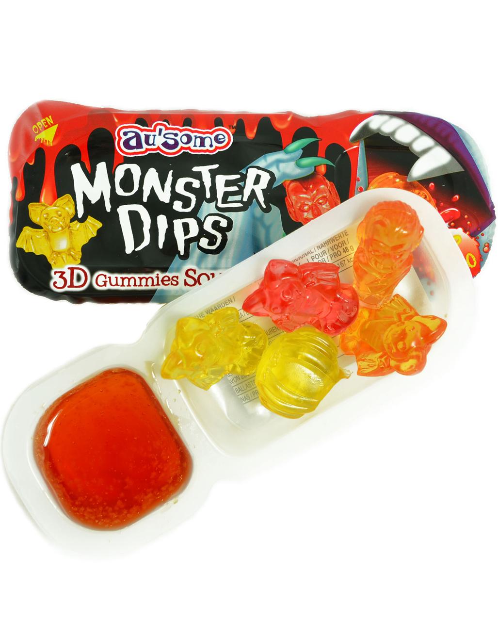 Monster Dips   Halloween Trick or Treat   Horror-Shop.com