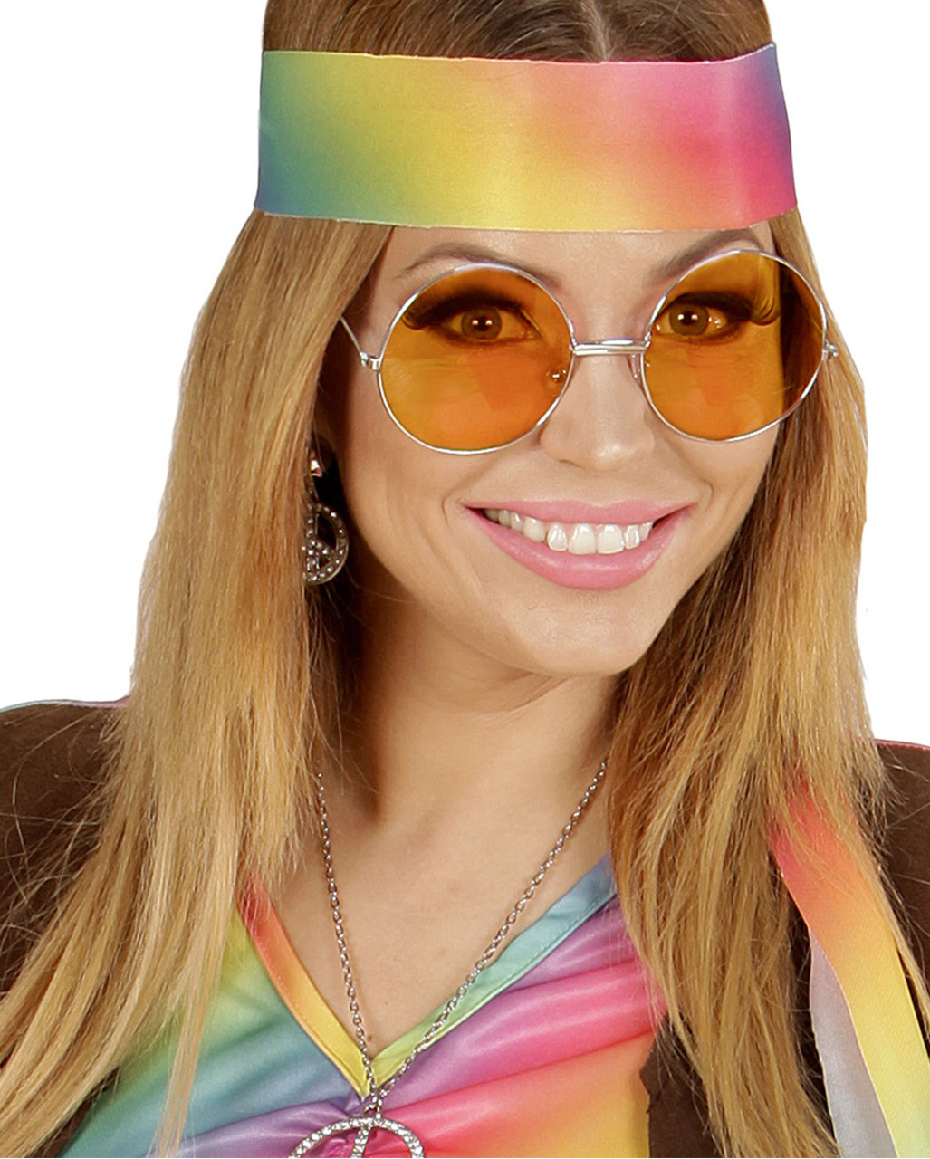 0d80b2e96983 Orange 70s Sunglasses Hippie sunglasses as Carnival Glasses