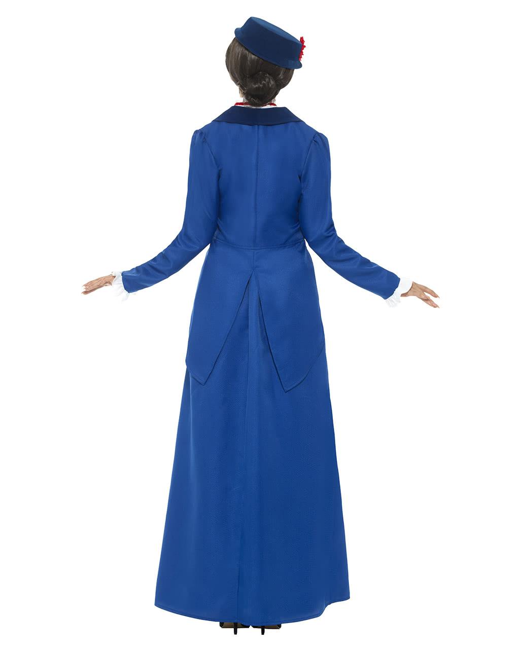 Viktorianische Nanny Kostüm Als Mary Poppins Horror Shopcom