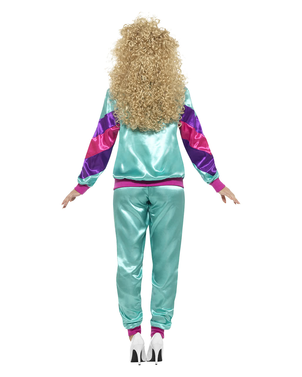 80s Jogging Suit Costume | Bad button | horror-shop.com