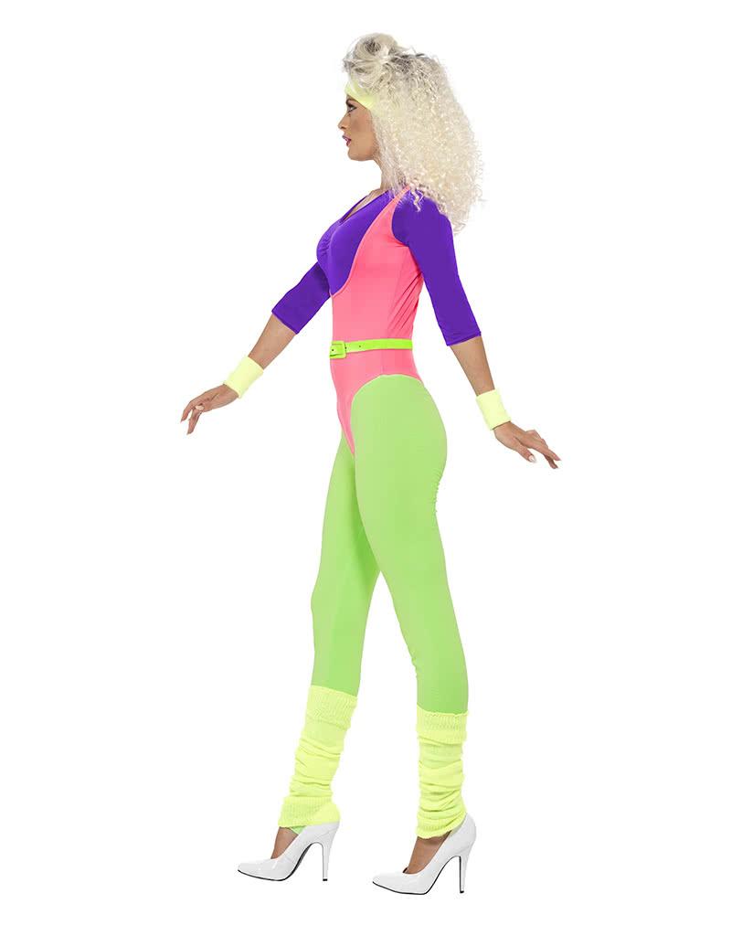 Aerobic Kostüm   80er Jahre Verkleidung für Frauen   Horror-Shop.com