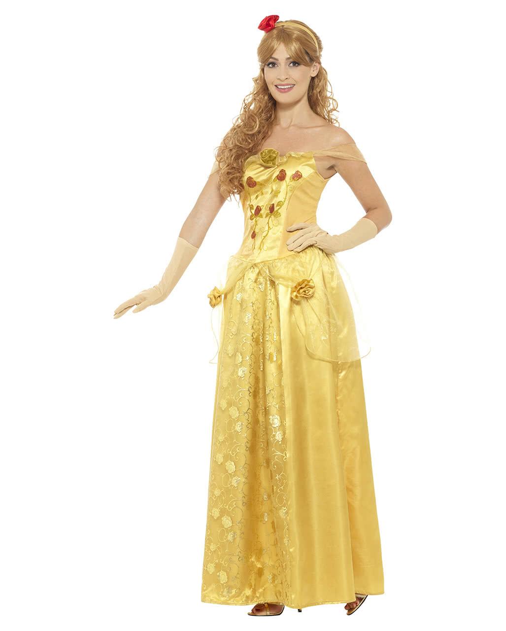 Golden Princess Costume | Belle | horror-shop.com