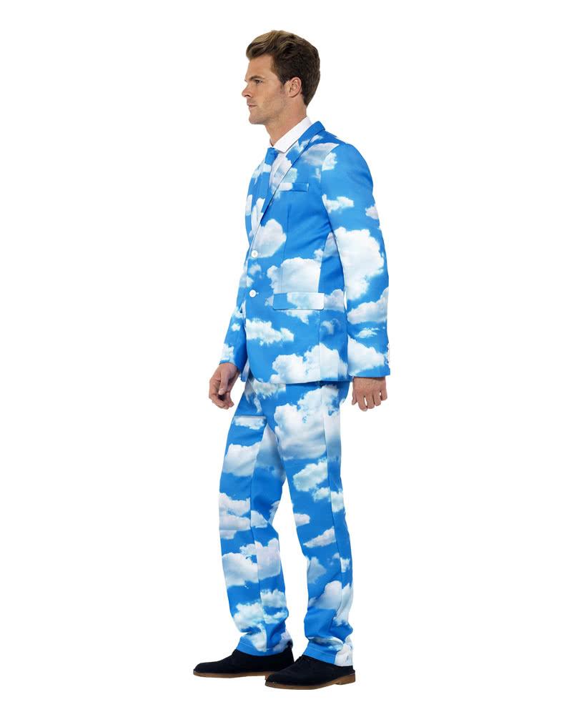 Clouds suit | Mens costume with clouds motif | horror-shop.com
