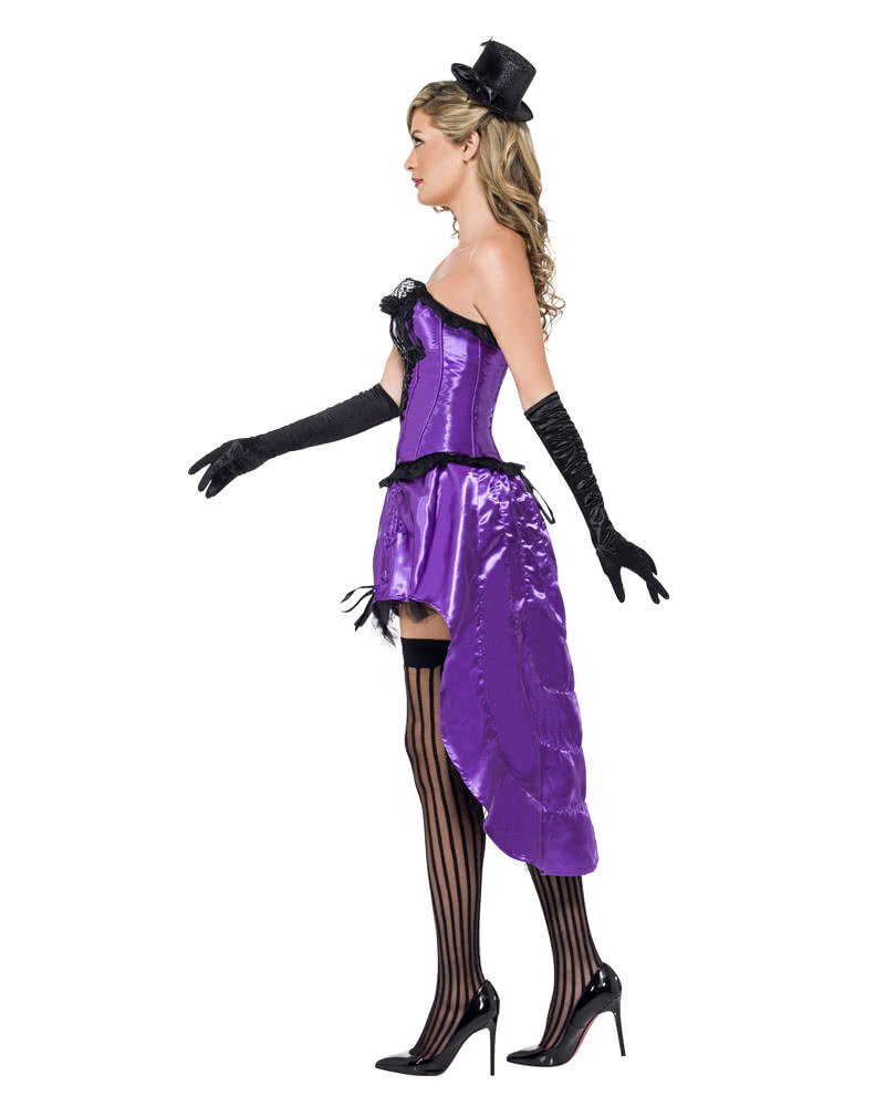 Burlesque can can costume violet showgirl costume showgirl burlesque can can costume violet solutioingenieria Image collections