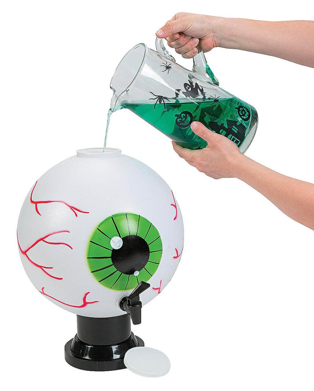halloween eyeball beverage dispenser | scary buffet accessories