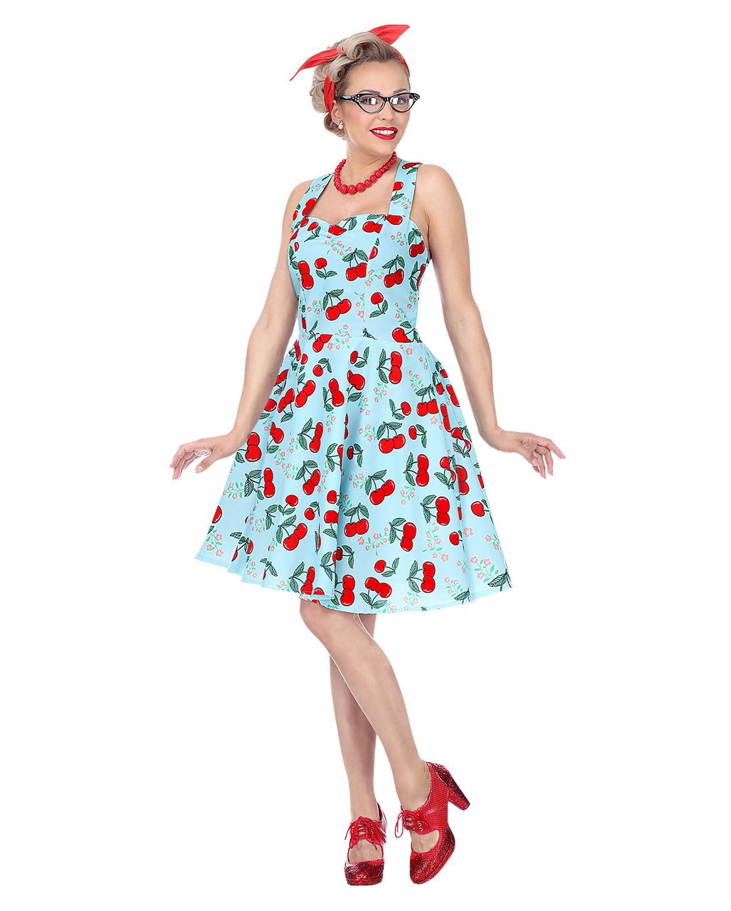 6e8badee42fb 50's Rock'n Roll Dress With Petticoat buy   horror-shop.com