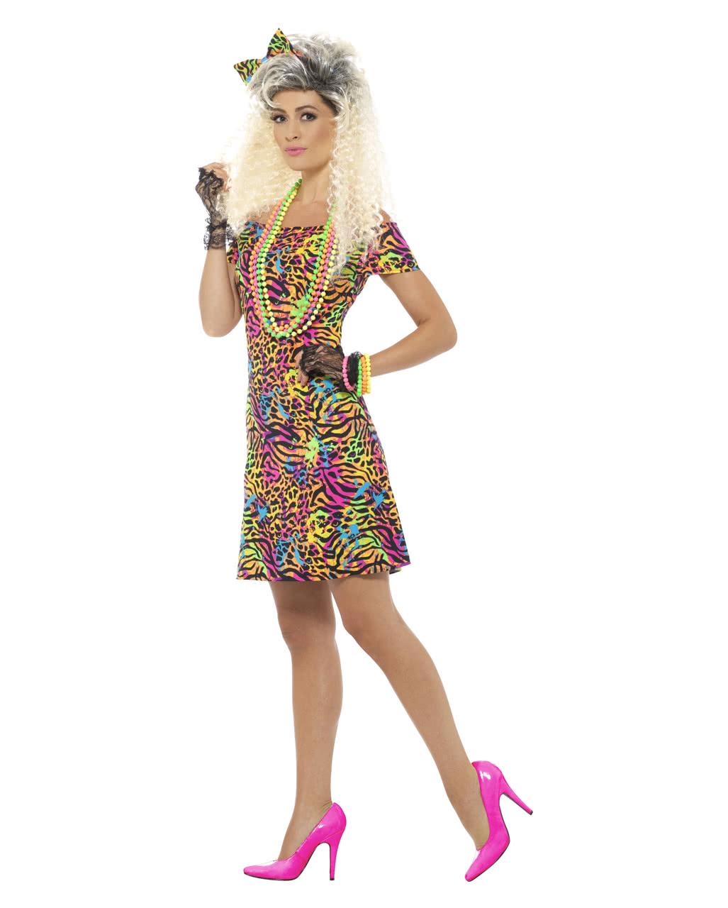 80s Party Animal Kostum Fur Karneval Horror Shop Com