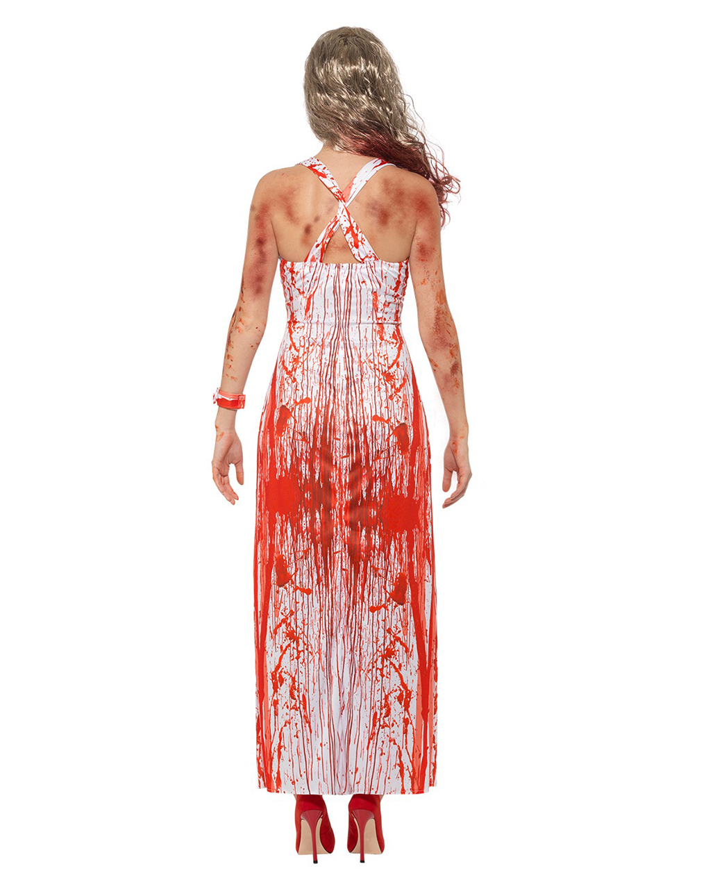 Bloody Prom Queen Costume for Halloween parties | horror-shop.com