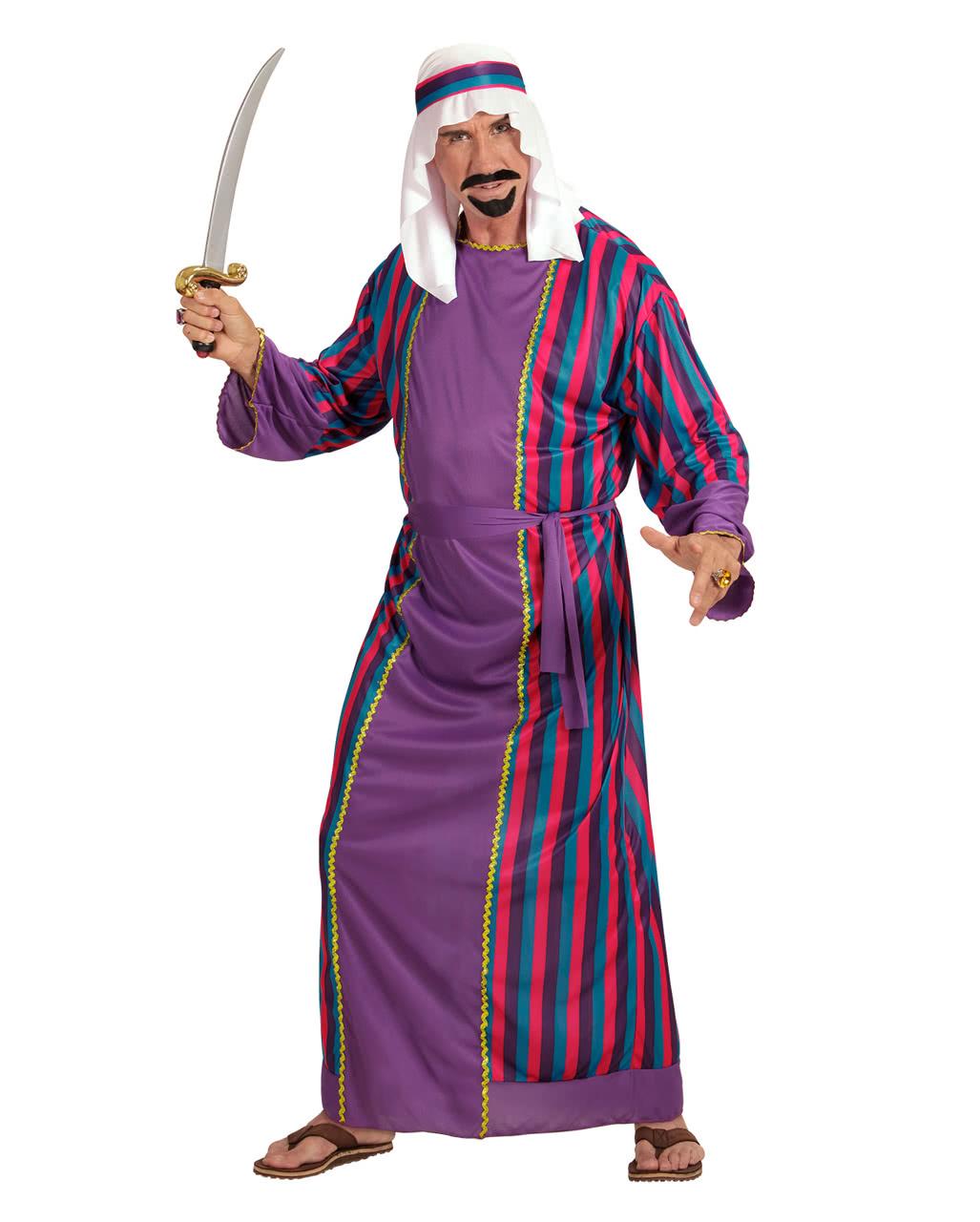 arab sheik costume 3 pcs. as sultan costume | horror-shop