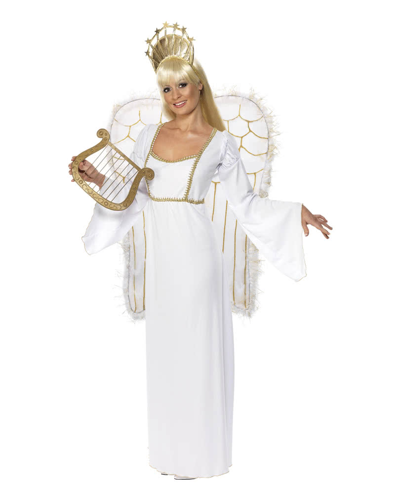Christmas angel costume with wings   Elegant Christkind Costume ...