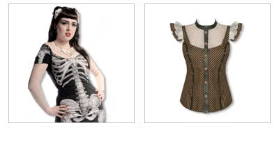Ladies' Gothic Tops