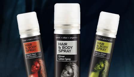Haarspray & Haarfarben