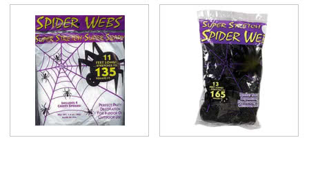 Halloween Spinnennetze
