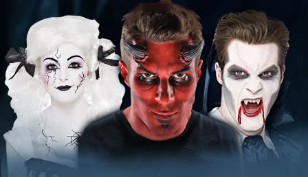 Halloween Make Up Theaterschminke U Karnevals Make Up Horror