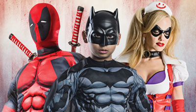 Officially Licensed Costumes & Accessories