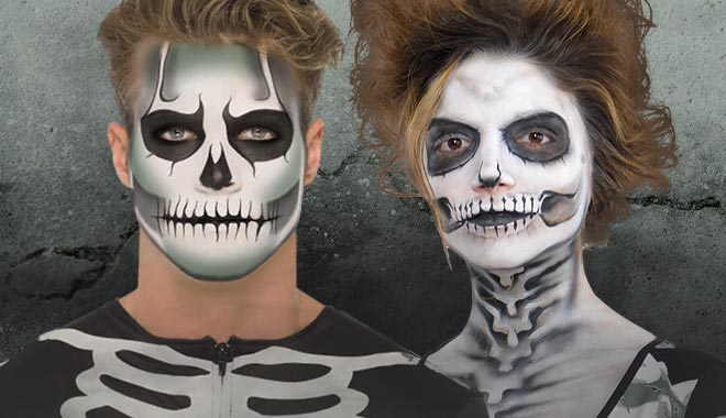 Skeleton Make-Up
