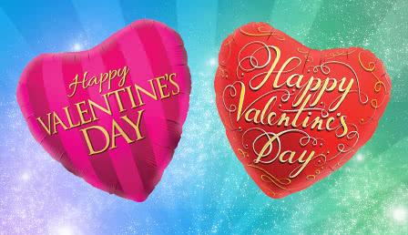 Foil Balloon Valentine's Day