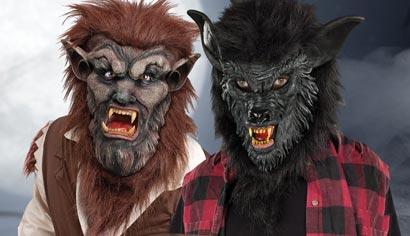 Werwolf Masken