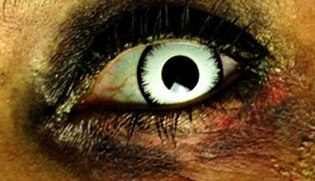 Zombie contact lenses