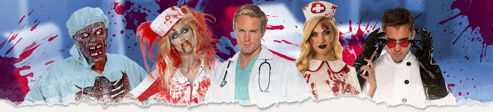 Krankenschwester Kostüm & Arzt Kostüm