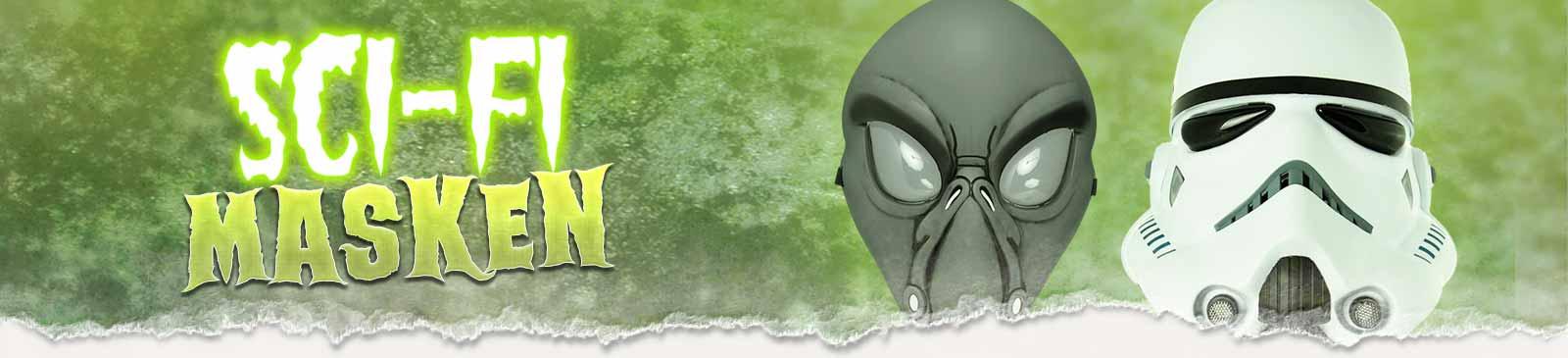 Science Fiction Masken