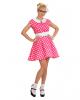 50er Jahre Polka Dot Kleid Gr. S