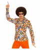 70s Groovy Costume Shirt Bubbles