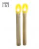 LED Candles Set Beige