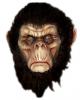 Evil Chimpanzee Mask Brown