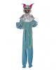 Creepy Clown Decoration Blue
