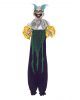 Creepy Clown Dekoration Lila