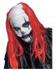 Creepy Horror-Clown Perücke rot