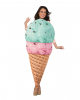 Eiswaffel Kostüm für Erwachsene
