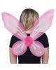 Elfen Flügel pink
