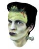Frankenstein Perücke mit Stirnteil