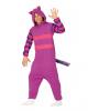Gigantic Cuddly Cat Costume Jumpsuit Purple