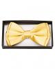 Golden Satin Bow Tie Deluxe