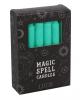 "Green ""Happiness"" Magic Candles 12 Pcs."